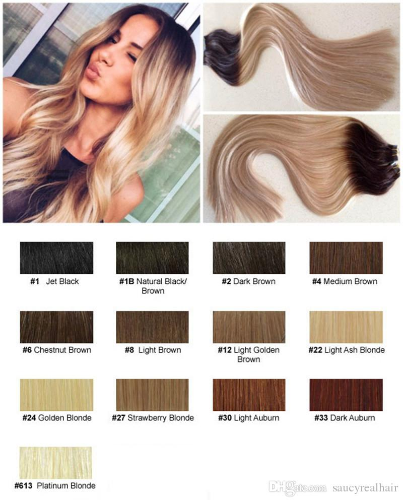 80g Straight Tape In Remy Human Hair Extensions 16 18 20 Seamless