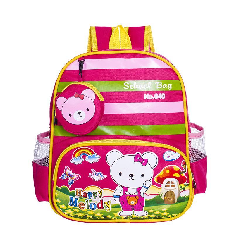 Kid Backpack Cute Cartoon Little Bear Baby Kindergarten Bag High Quality  Oxford Knapsacks Mini Toddler Book Bag Messenger Bags For Women Gym Bags  For Women ... d53066a25c