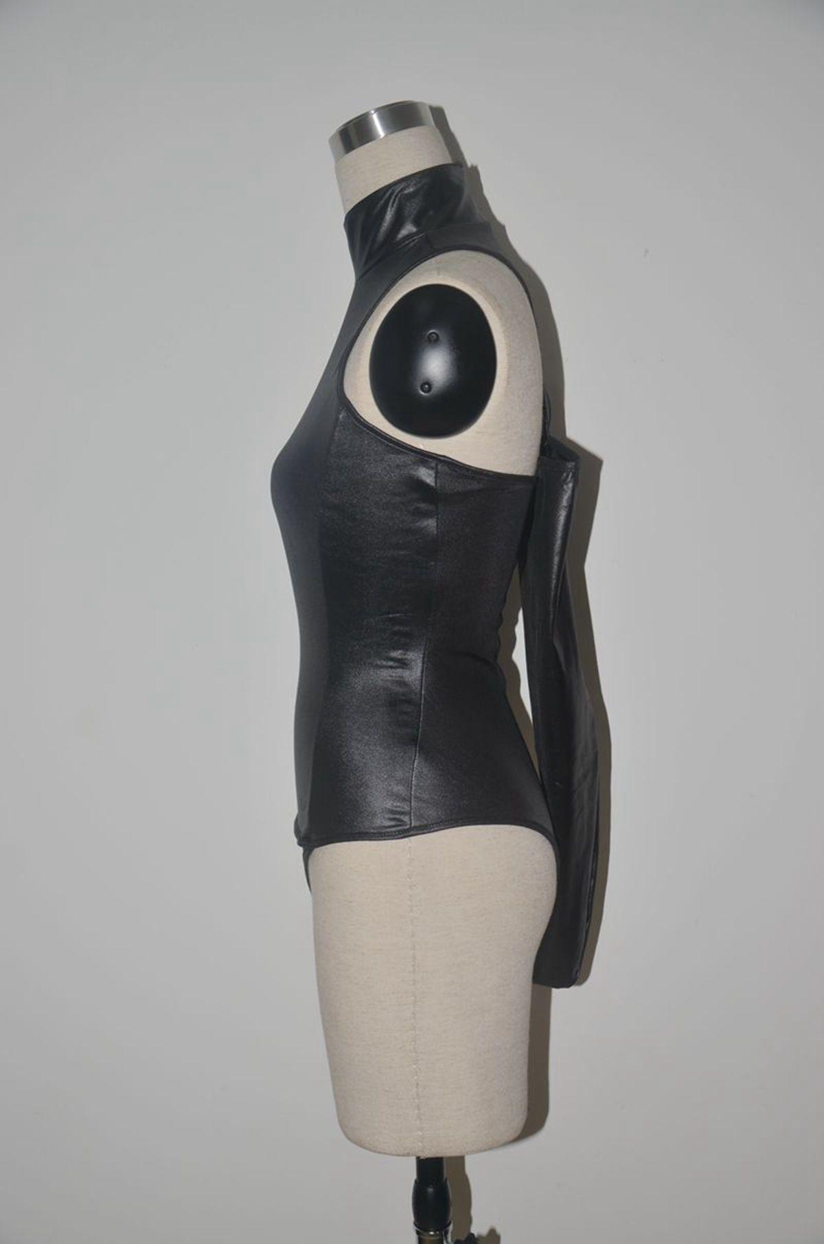 Sexy Skirts Women Leather Uniform Cosplay With Hat Sexy Underwear White Beauty Bundling Sexy Condole Belt Skirt