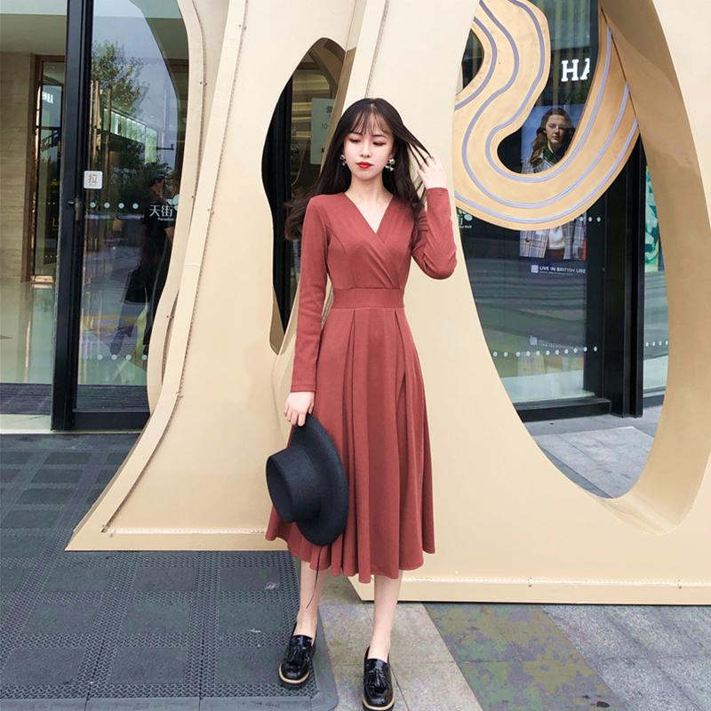 dc04f4645 Compre Moda Coreana Cómodo Vestido De Fiesta Animado Informal Recién  Llegado Elegante Temperamento Tendencia Fiesta Dulce Vestido De Una Línea A   39.35 Del ...