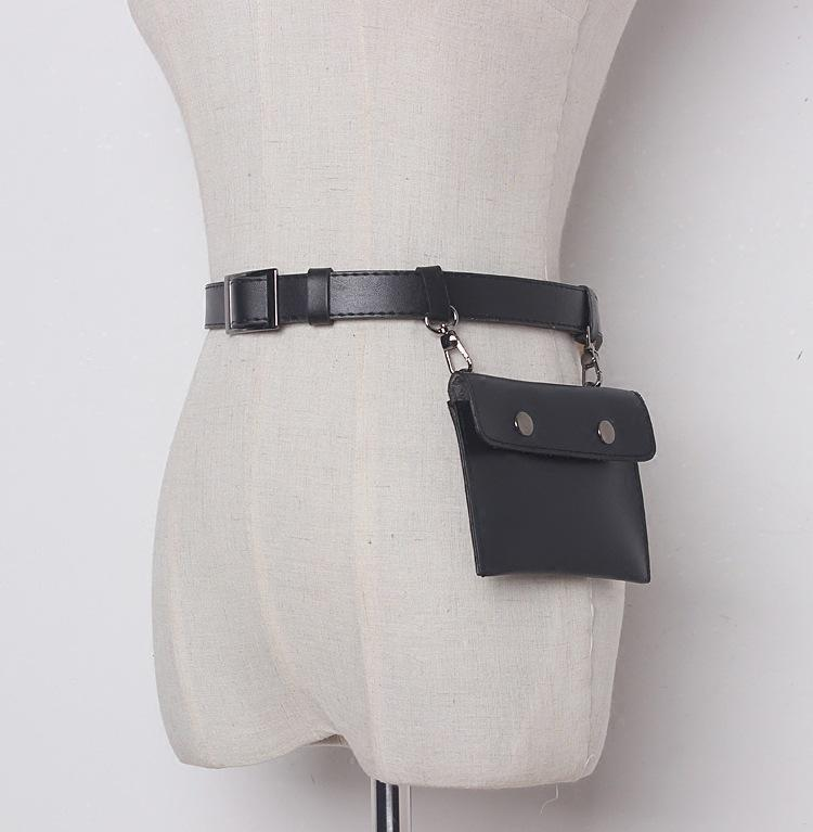 New Women Belt Bag Pu Leather Small Belt Bag Pouch Female Money Belts  Travel Fashion Fanny Pack Sling Waist Bags Shoe Bags Cute Fanny Packs From  Keviney 3504804c951f6