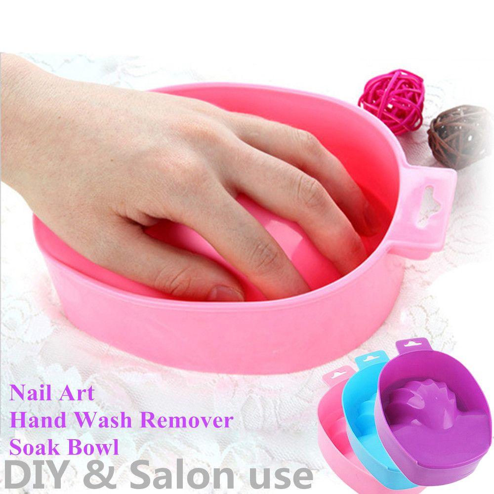 Acheter Bricolage Nail Art Soak Bowl Nettoyant Pour Les Mains