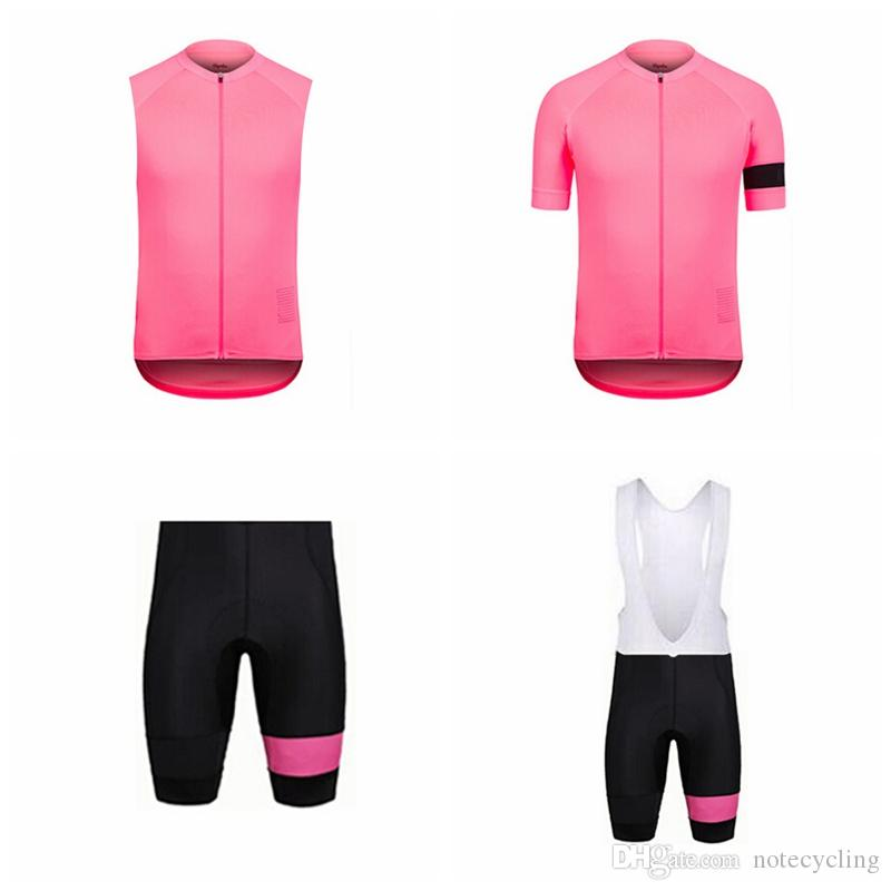 RAPHA Cycling Short Sleeves Jersey Bib Shorts Sleeveless Vest Sets Hot 4  Different Models Quality Cycling Clothing Ropa Ciclismo A41229 Cycling  Underwear ... 2426934fa
