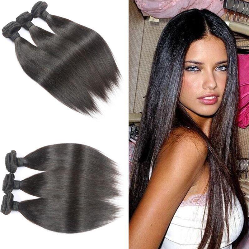 Best Top 9a Brazilian Virgin Straight Hair Weaves Malaysian Peruvian