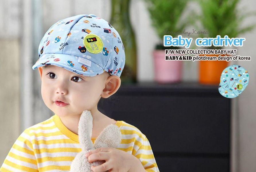 lovely baby hats kids hat toddlers infant hat little car baseball beret cap baby girls boys sun hats outside caps