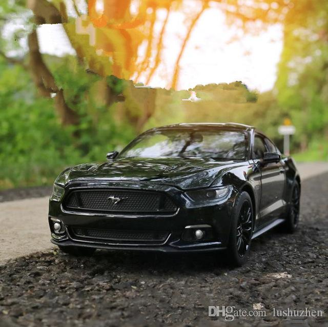 1:24 advanced alloy car toy,Ford mustang GT,diecast metal model,2 open doors toy vehicle,collection model,free shipping