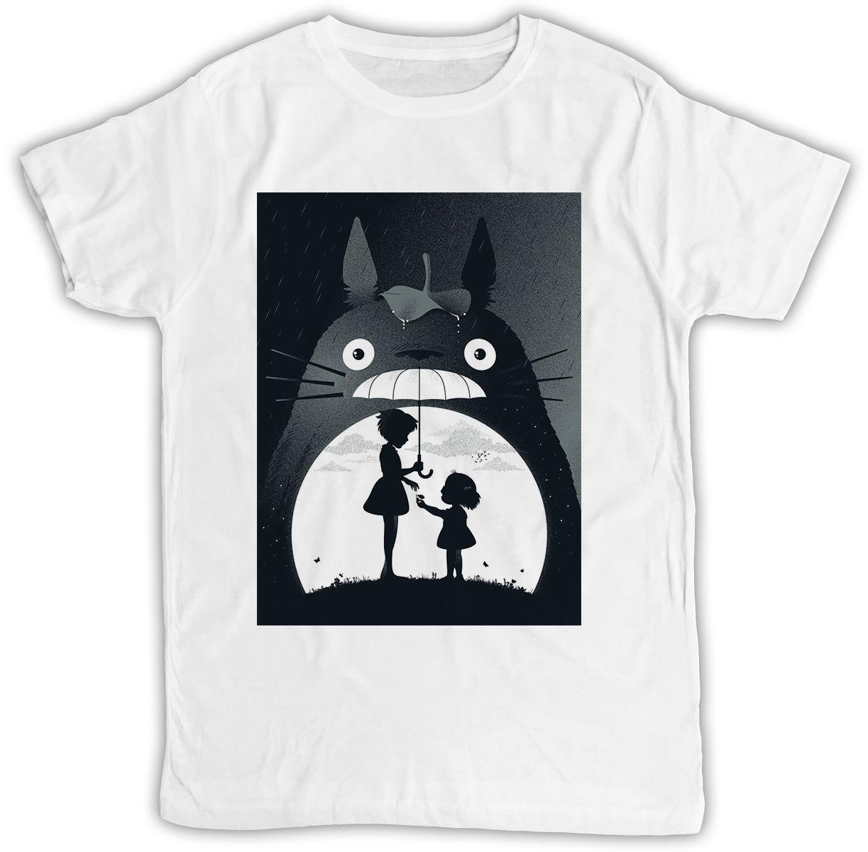 My Neighbor Totoro Poster Ideal Gift Birthday Present Cool Retro Funny T Shirt Shirts Designs Best Selling Men Shop For