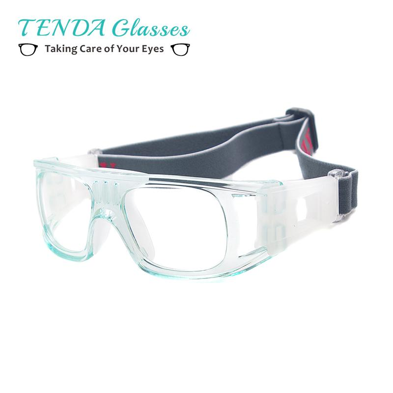 ae670da5d9e Men Full Rim Sports Basketball Spectacles Square Safety Goggles For ...