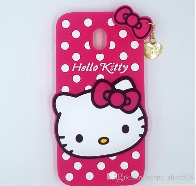 official photos dbcc9 a9241 3D Cartoon Hello Kitty Cat Phone Case Soft Silicone Back Cover with Pendant  Love Cat Soft Silicone Heart Cover Case with iphone x s9 s9plus