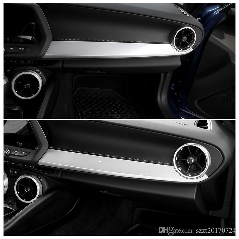 Copilot Panel Decoration Trim Chevrolet Camaro 2017+ ABS i 1 pezzi Accessori auto interni