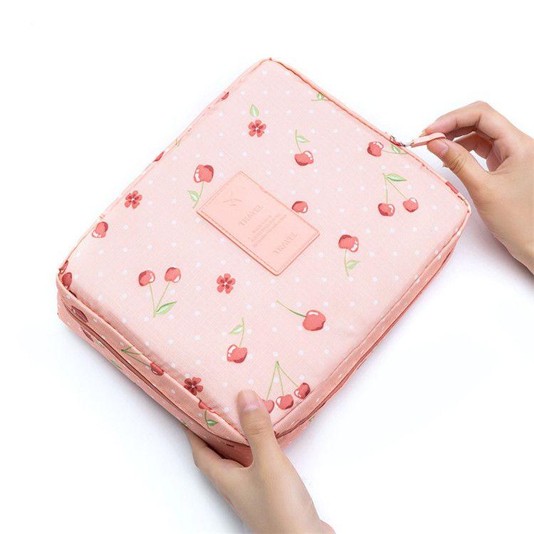 New fashion ladies Korean storage bag,Receive travel makeup wash bag,Multifunctional square bag household goods