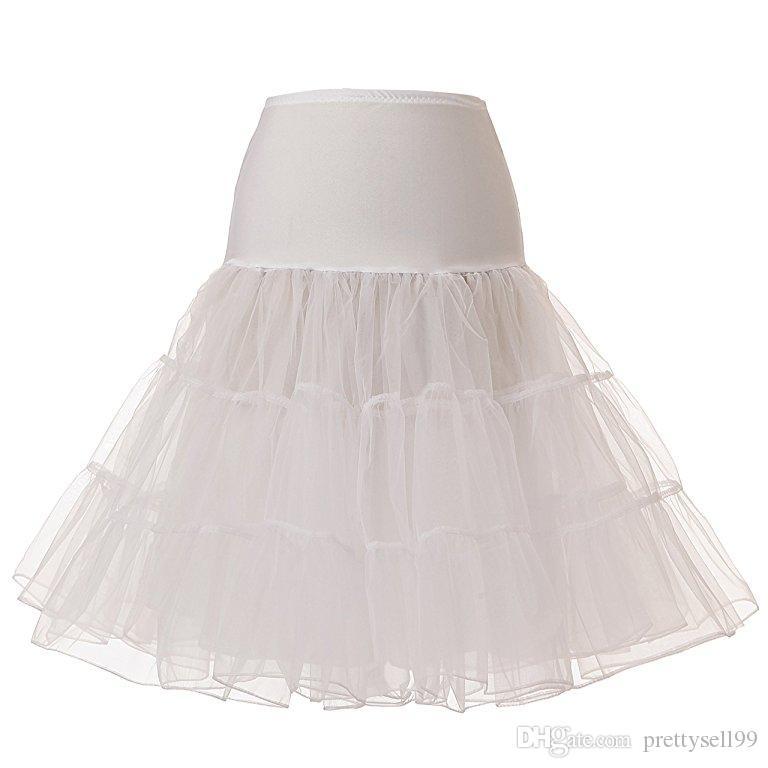 قصيرة التنورة الداخلية الزفاف قماش قطني الزفاف خمر التنورة الداخلية 2020 لفساتين الزفاف تحتية الغريب من نوعه توتو روك والباليه تنورة