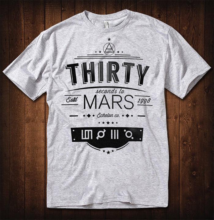 db218af8 30 Seconds To Mars T Shirt Men Women Echelon Rock Tee T Shirt S Tees Shirts  From Lijian57, $12.08| DHgate.Com