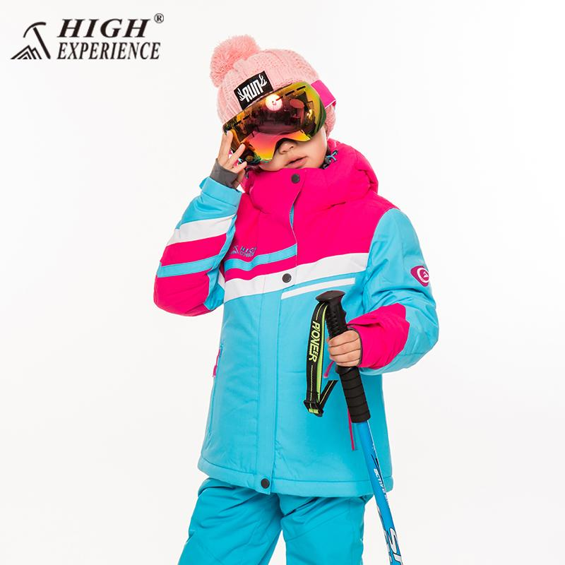 70e9633f3 2019 Ski Jackets Kids Brand Snow Clothes Skiing And Snowboarding Snowboard  Jackets Girls Winter Warm Coat Hooded 30Degree 6T To 16T From Duriang, ...