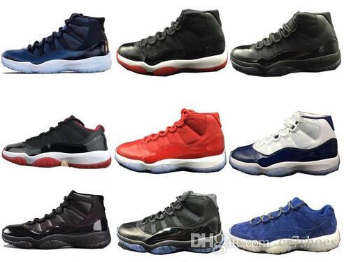 d7a23c675b7525 High Quality 11 11s Space Jam Bred Concord Basketball Shoes Mens Women 11s  Gym Red Midnight Navy Gamma Blue 72 10 Sneakers With Box Online Shoes Cheap  Shoes ...