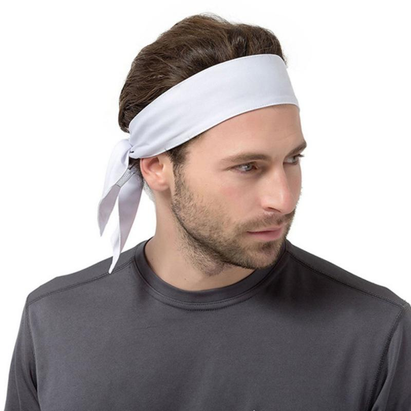 2019 Running Headband Men Women Tennis Gym Sweatband Fitness Headscarf Yoga  Hair Band Pirate Hat Cycling Scarf Headwear From Peachguo 8a9ab063d59