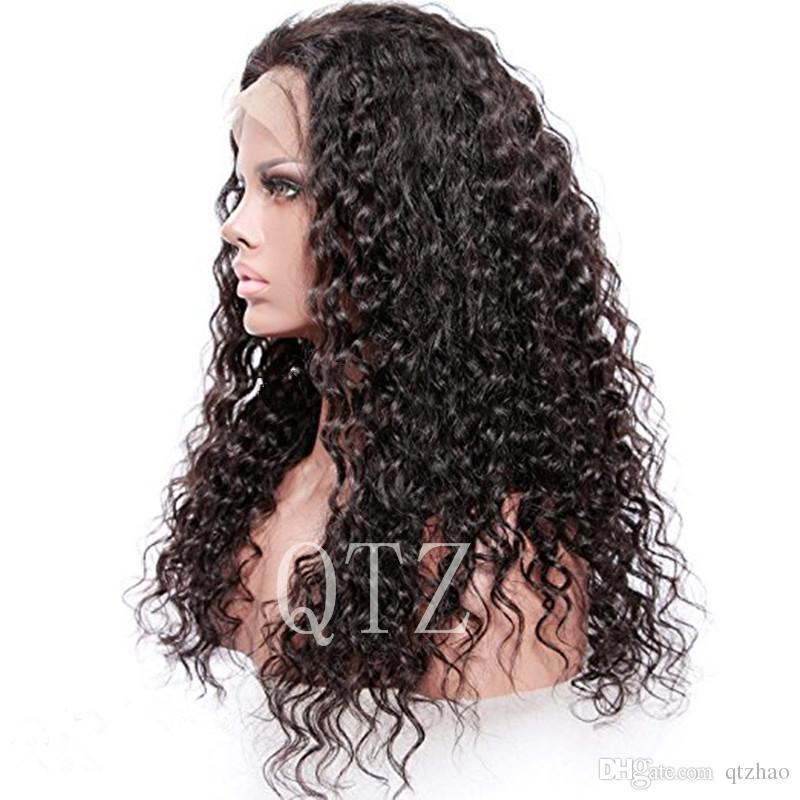 Parrucche piene del merletto dei capelli umani vergini brasiliani le parrucche dei capelli umani delle donne di colore