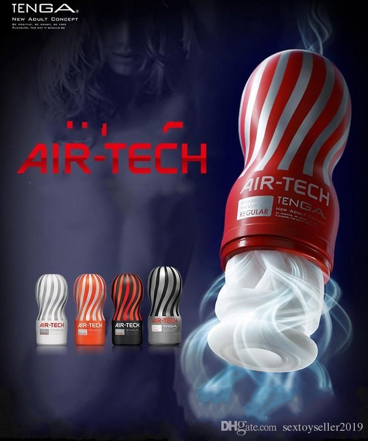 Air-tech Reusable Vacuum Sex Cup, Vagina Real Pussy, Male Masturbator Cup, Sex Toys For Men, Sex Products