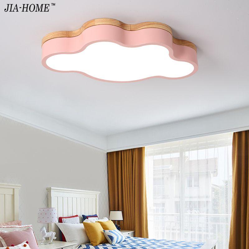 Großhandel Macaron Farbe LED Deckenleuchten Für Kinderzimmer ...