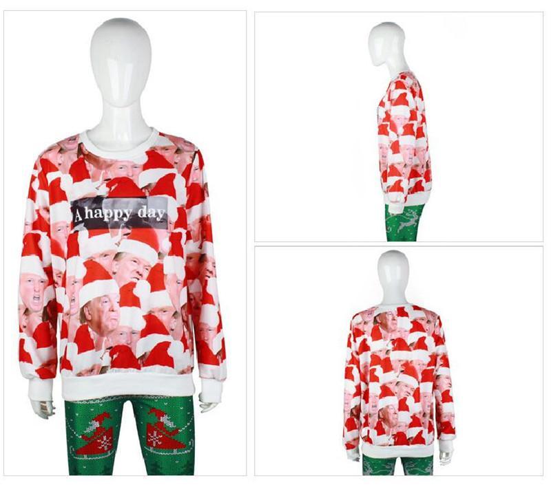 Maglietta Designer Hoodies Acquista Printted Donald Unisex Trump 3d RxczBUwH