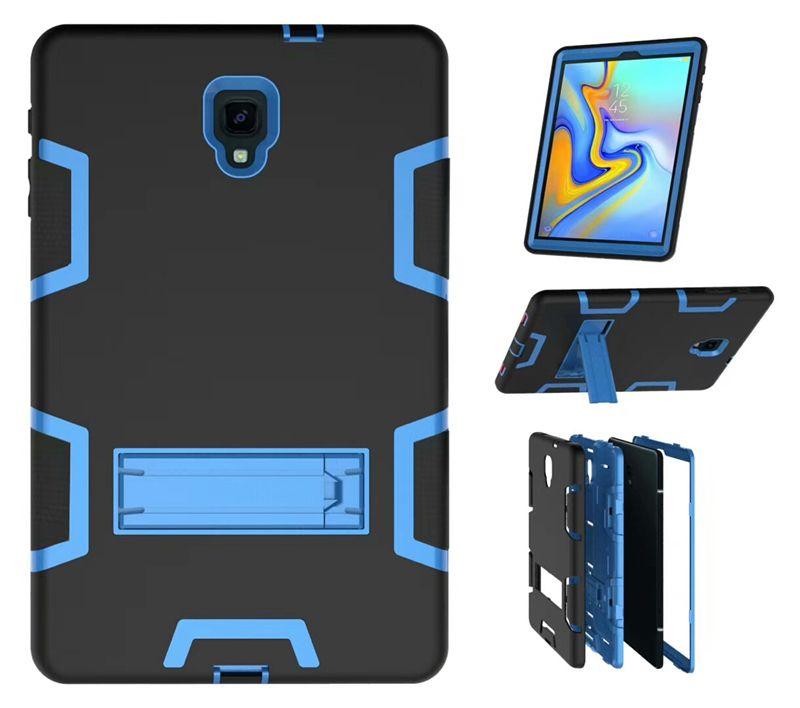 Compre Para Samsung Galaxy Tab Um 10.5 Sm T595 Sm T590 T590 T595 Tablet  Bolsa Caso Heavy Duty Híbrido Armadura À Prova De Choque Silício Pc Capa  Dhl De ... ab767f5655