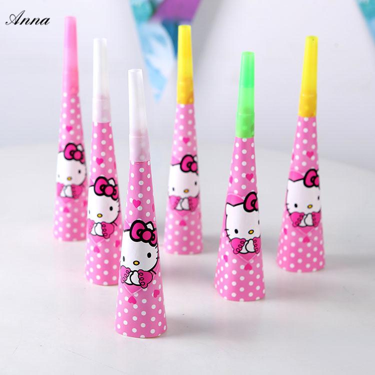 928218f2e Hello Kitty Birthday Party Supplies Blowouts Whistles Kids Birthday Party  Favors Decoration Supplies Noise Maker Toys4 White Noise Machine White  Noise ...