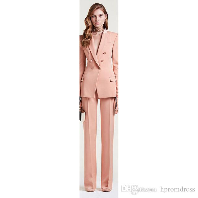8e98bdd361e9d New Womens Pant Suits Red Business Female Office Uniform Ladies Formal  Trouser Suit Bell Bottomed Pants Womens Tuxedo Custom Joan Rivers Rivers  Formal ...