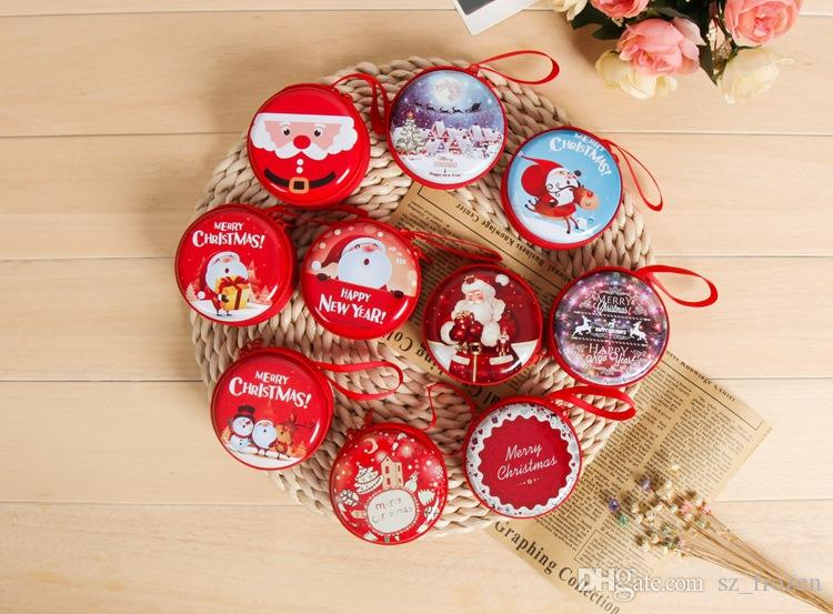 2017 hot Christmas coin purse decorations gift creative children toy gift tree old ball hanging pieces storage bag A-0488
