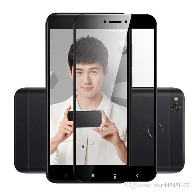 2.5D 9H Full Cover Gehärtetem Glas Für Xiaomi Redmi 4X film Für Xiaomi Redmi note4 Displayschutzfolie Für Xiomi Redmi note4X pro 64 GB