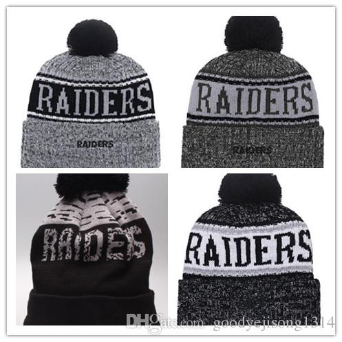 2019 Cheap Hot Winter Beanie Knitted Hats Fashion Baseball Football  Basketball Beanies Sports Team Women Men Fashion Raiders Winter Hat DHL  Crochet Beanie ... 45b3157584f