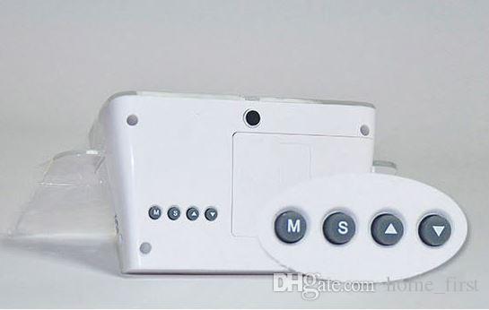 Yaratıcı Multifuntion Floresan Mesaj Elektronik Kurulu Çalar Saat Minil Kalem Severler Hediye ile Sessiz Aydınlık Neon Mesaj