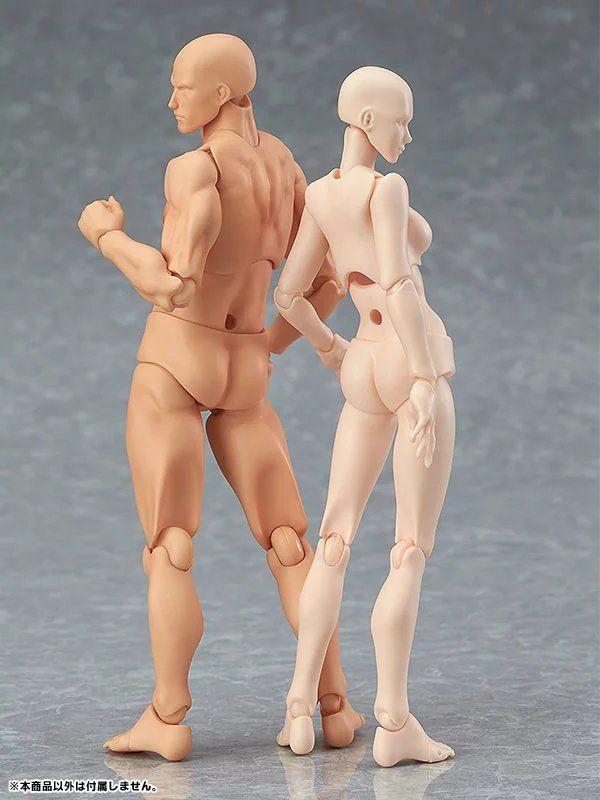 Acción Figma Hombre Mujer Color de piel Arquetipo Él Ella Ferrita Figma movible Figma pvc Figura de acción Modelo Juguetes Muñeca