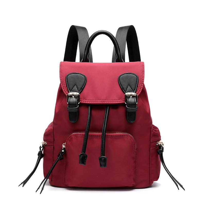 eae4cc801e 2018 Canvas Women Backpack Fashion Korean Female Mini Backpack Teenage Girl  Bookbag Schoolbag For Women Bag 796 Swiss Backpack Laptop Rucksack From ...