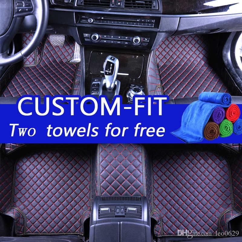 Custom Car Floor Mats For Jaguar All Luxury 3d Leather Car Floor