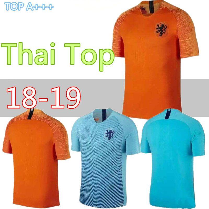 949071527 2019 2018 19 Nederland Soccer Jersey Netherlands Home Away Orange MEMPHIS  JERSEY ROBBEN 18 19 Thai Quality V.Persie Dutch Football Shirts From  Cst726, ...
