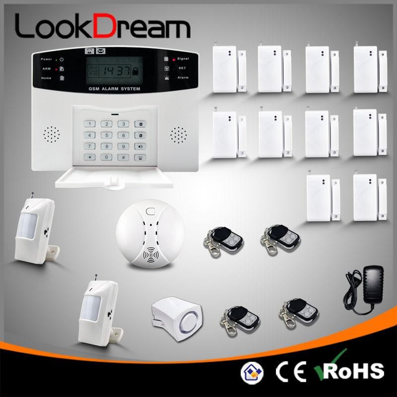 LookDream Wireless House Alarms Systems Home Security GSM
