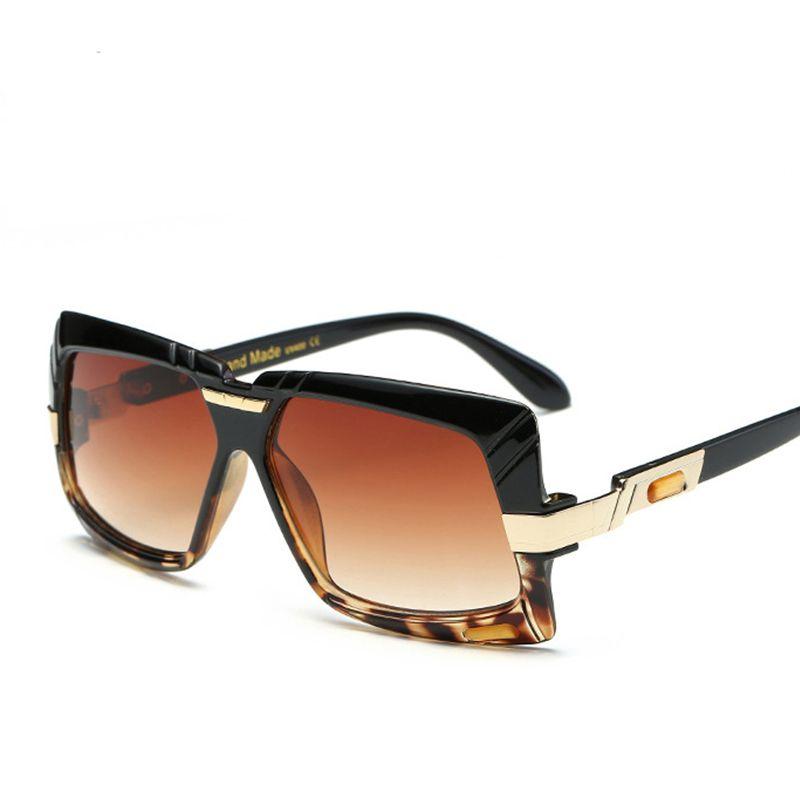 48777215009 New Black Clear Oversized Square Sunglasses Women Gradient 2018 Summer  Style Classic Women Sun Glasses For Men Big Square Uv400 Designer Sunglasses  ...