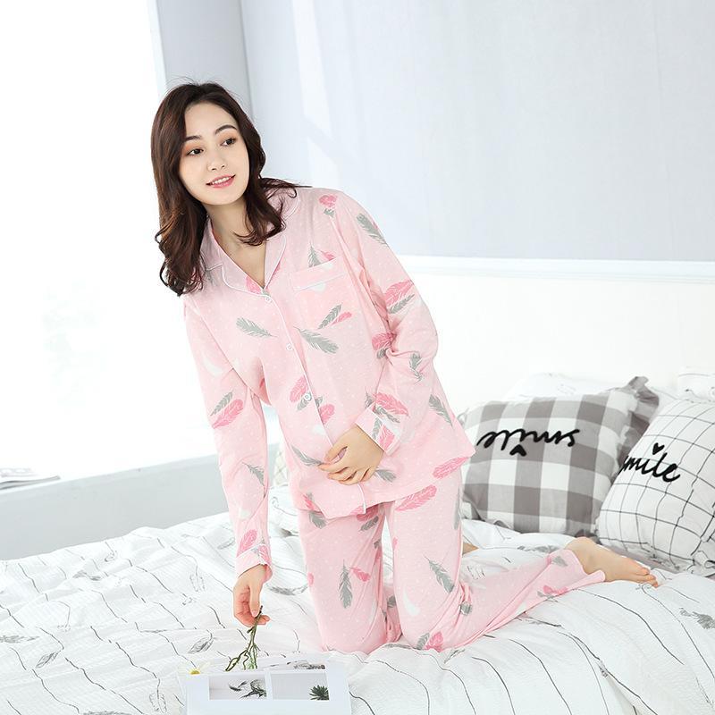 931d0cfac5 Купить Оптом Одежда Для Беременных Женщин Для Беременных Женщин Homewear  Women Soft Cotton Maternity Nightgown Nursing Отiraem В Категории