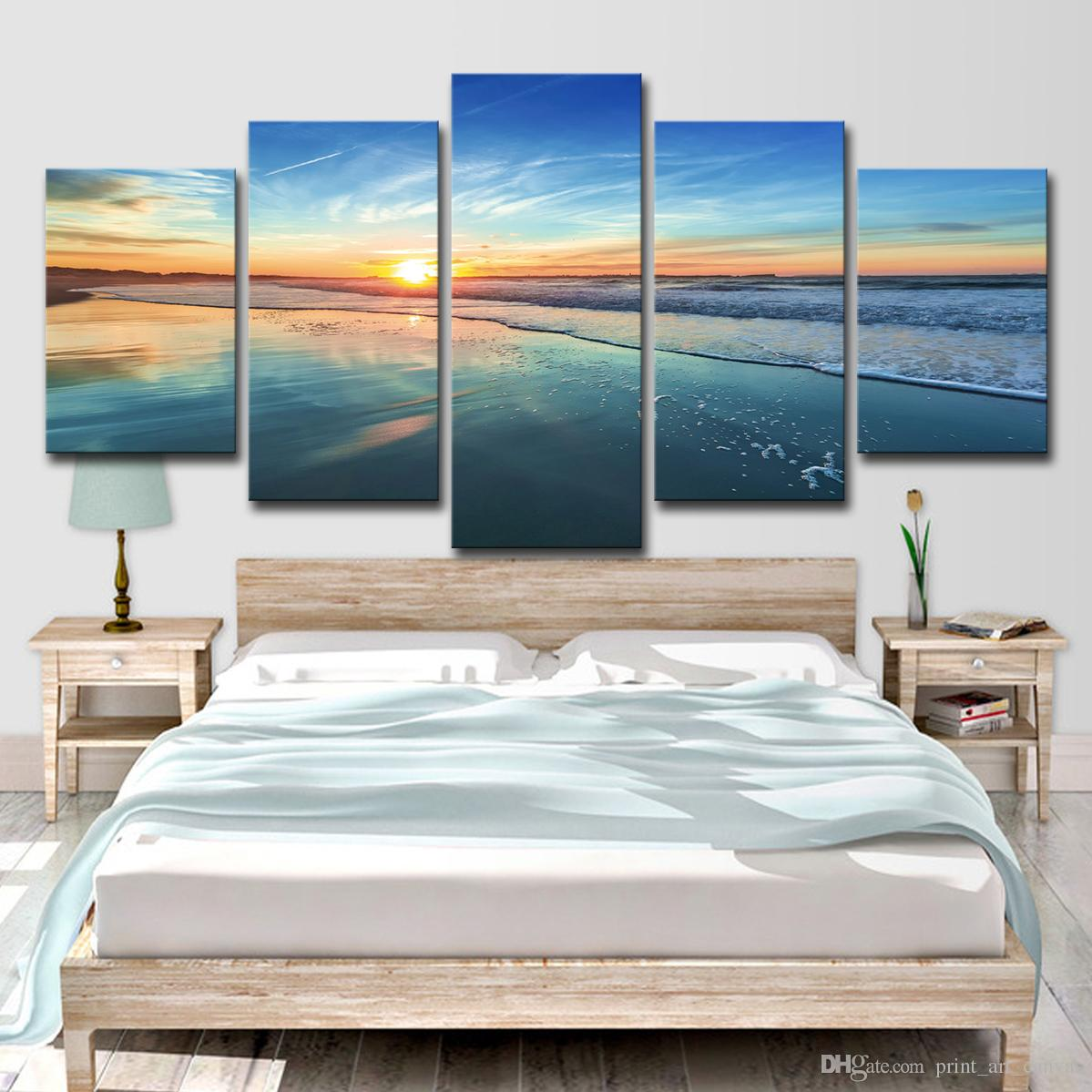Großhandel Home Decor Leinwandbilder Wohnzimmer Wandkunst 5 Stück ...