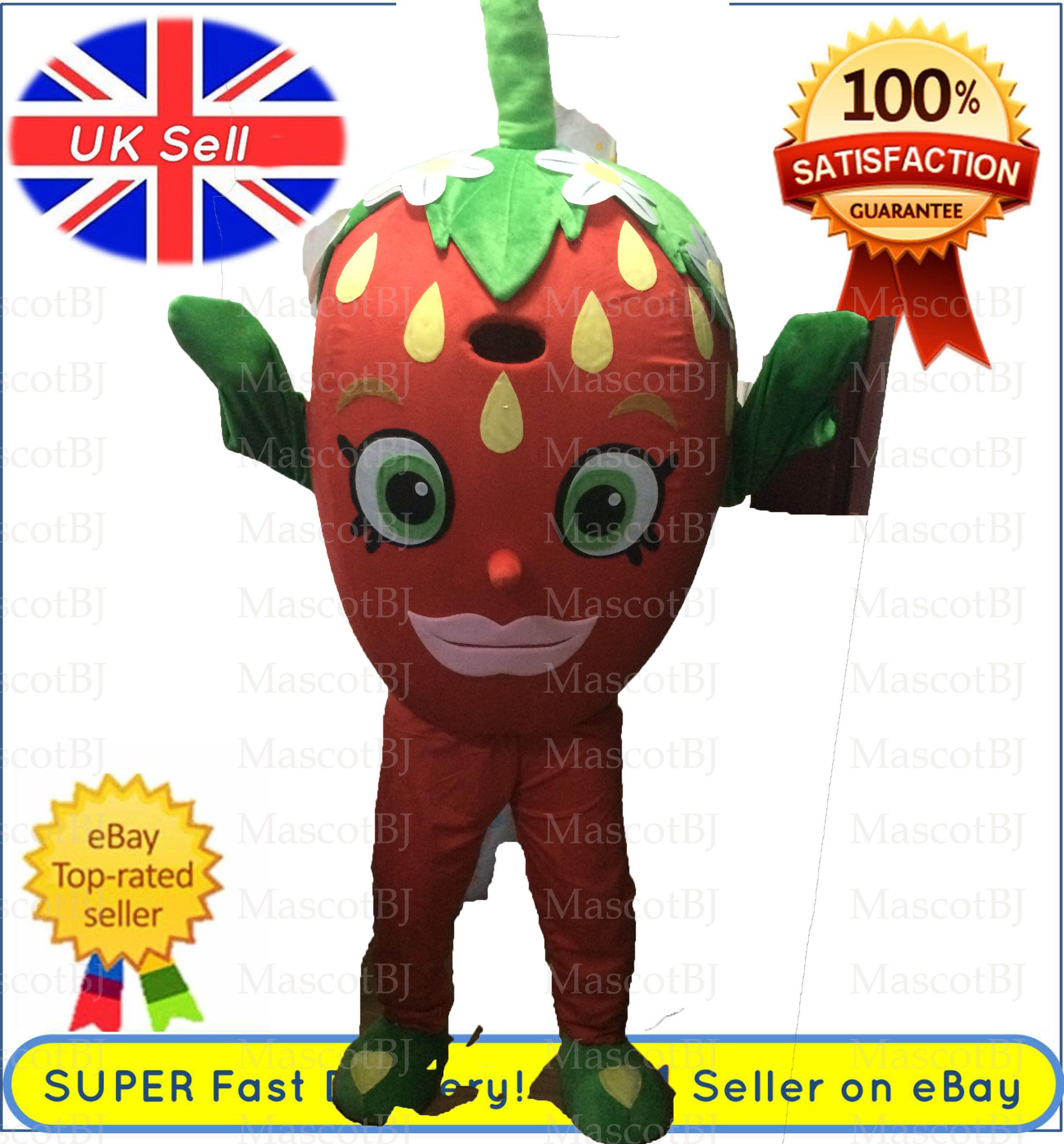 Großhandel Professionelle Original Strawberry Kuss Maskottchen ...