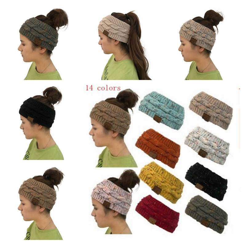 Großhandel 14 Farbe Cc Häkeln Twist Gestrickte Headwrap Winter ...