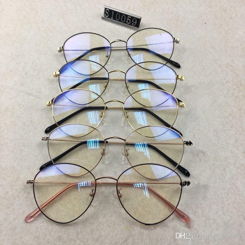 622290ccec Mens Optical Glasses Cheap Designer Eyewear PC Lens Titanium Cat Eye Opp  Bag Packaging Factory Wholesale Can Be Customized Sunglasses At Night  Lyrics ...