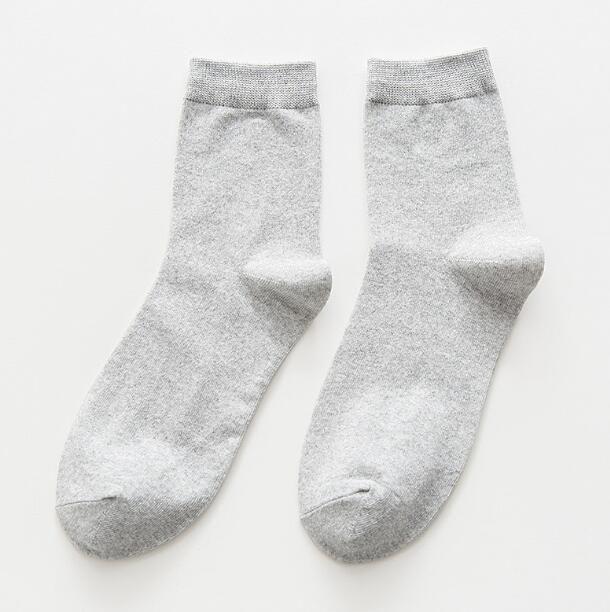 Men cotton hiking Socks Elastic Breathable Basketball Football Sports Sock Running Ankle Socks Fashion Red Men's Sports Socks