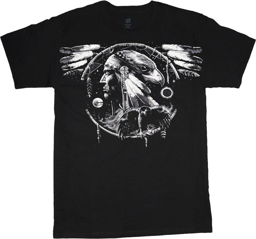 228b31f4da2 Big Men S T Shirt Hawk Dream Catcher Indian Tee Plus Size Tall 4X 5X 6X 7X 10X  T Shirt Shirt Awesome T Shirts For Guys From Amesion2409