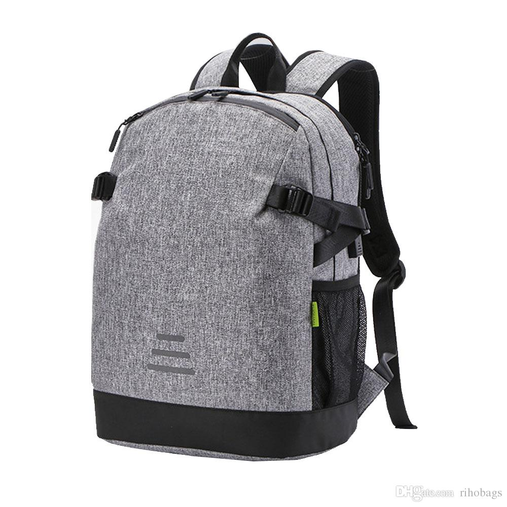 e05357003b1b Men Waterproof Canvas USB Charger Port Backpack Laptop Bag Large Backpack Sport  Bag Online with  39.53 Piece on Rihobags s Store