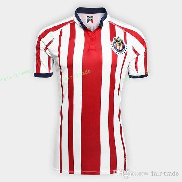 0d6bcbb0401 2018 2019 CD Chivas Guadalajara Jersey Fútbol De Hombres 20 PIZARRO 10  LOPEZ 14 ZALDIVAR 9 PULIDO 11 BRIZUELA Football Shirt Kit De Equipo Por  Fair Trade, ...
