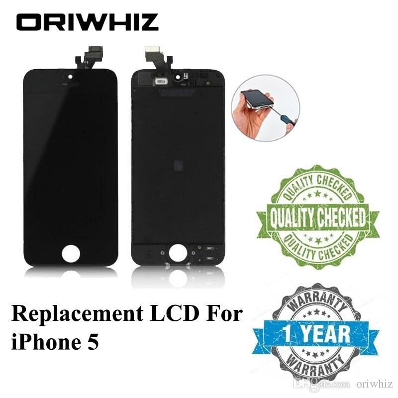 High Quality LCD Display For iPhone 5 5S 5C SE Touch Screen Digitizer Cold Press Frame Full Assembly Replacement Available
