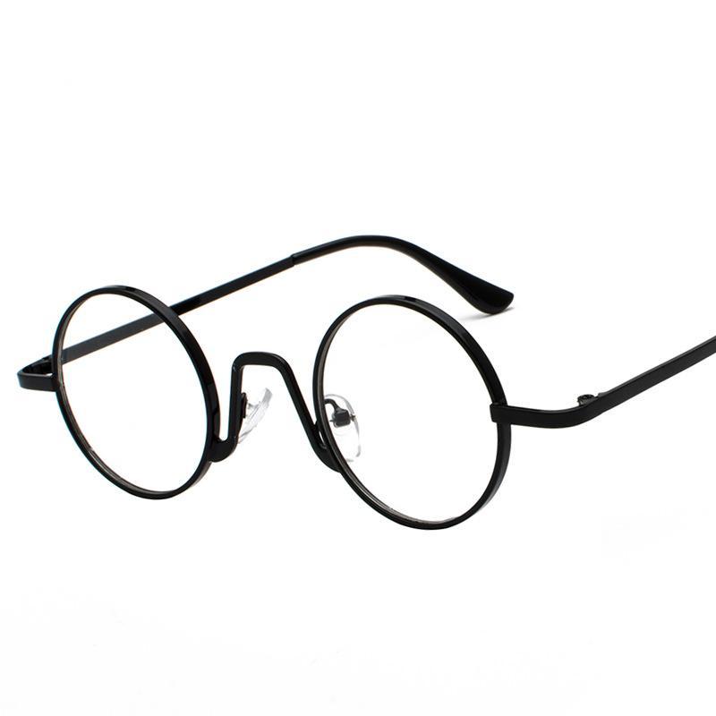 2019 Neuestes Design Mit Perle Perlen Runde Brillen Rahmen Neue 2018 Luxus Vintage Damen Transparent Brillen Retro Klare Gläser Für Frauen Brillenrahmen Bekleidung Zubehör