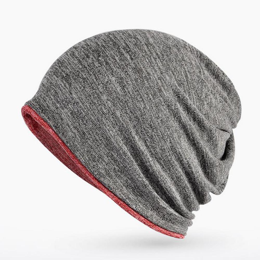 c49bc6f8499d8 2018 New Vintage Beanie Winter Cap Men Cotton Hat Leisure Hat Warm Skullies  Knitted Wool Beanies For Women Men Scarf Knitted Hat Cap Hat From  Gwyseller