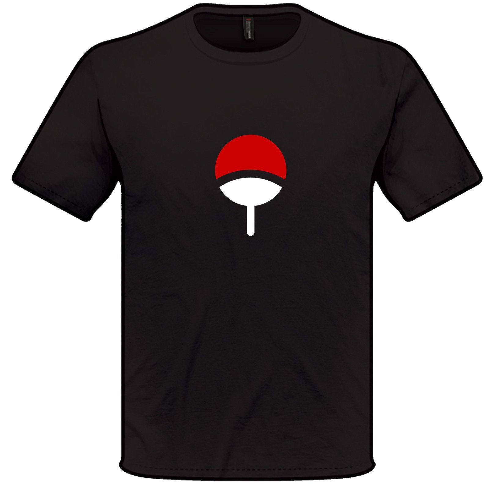 Details Zu Naruto Uchiha Clan Symbol T Shirt Funny Unisex Casual